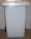 65 gallon security container