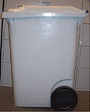95 gallon security container